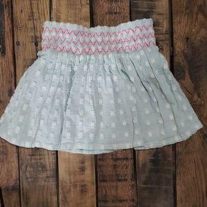 Robin egg blue skirt
